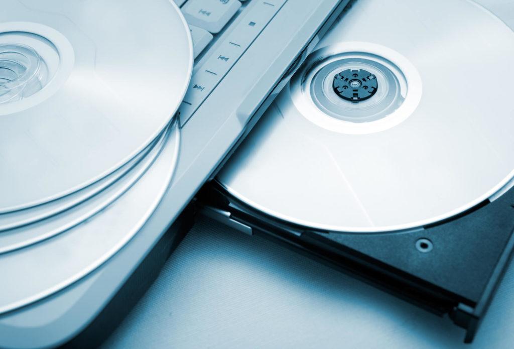 Backup na płycie CD